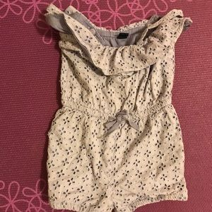 Summer romper with lining